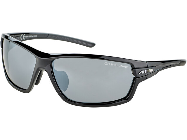 Alpina Tri-Scray 2.0 Brille, black/black mirror